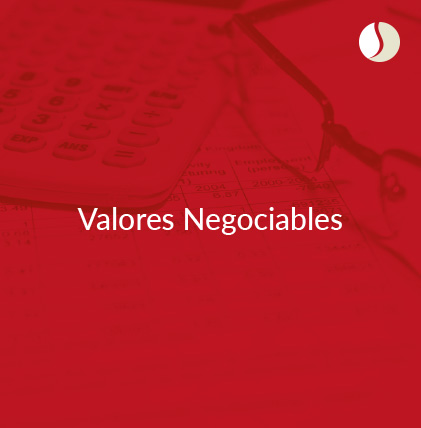 Valores Negociables y Financieros